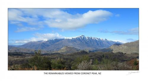 Remarkables from Coronet Peak